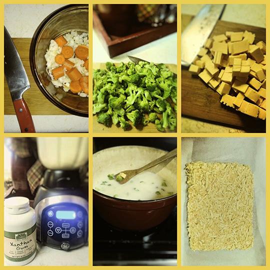 Brocolli Cheddar collage