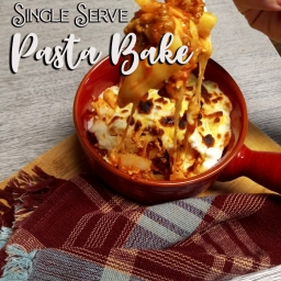 15 Minute Pasta Bake – For One