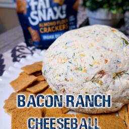 Bacon Ranch Cheeseball