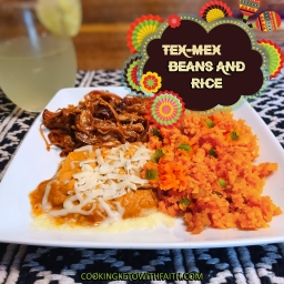 Tex-Mex Refried Beans And Rice