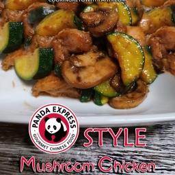 Panda Express Style Mushroom Chicken
