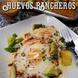 Sheetpan Huevos Rancheros