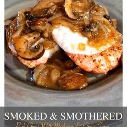 Smoked And Smothered Pork Chops